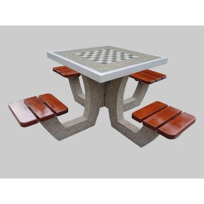 Stół do gry w szachy lub chińczyka