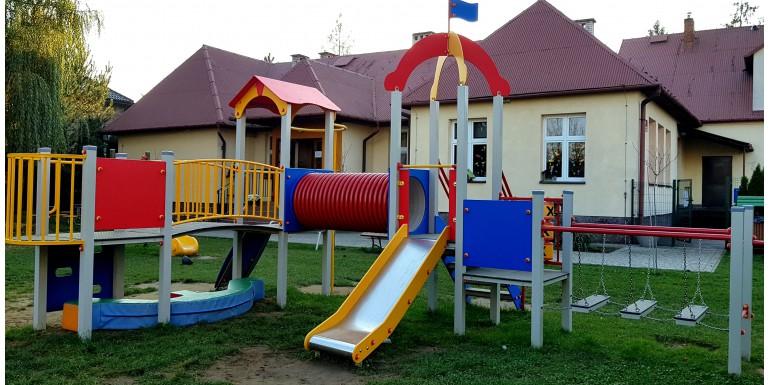 Plac zabaw przy Przedszkolu w Baczkowie