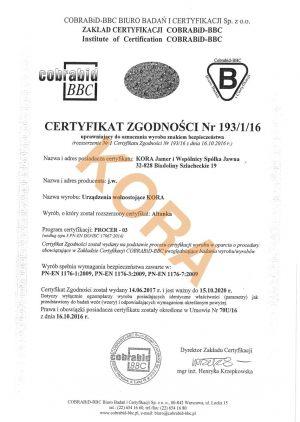 certyfikat-altanka
