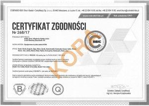certyfikat-kora-sprezynowce