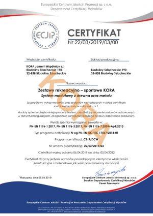 certyfikat-kora-zestawy-rekreacyjno-sportowe-01